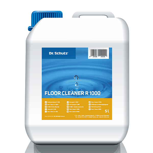 R1000 płyn do codziennej pielęgnacji elastycznych wykładzin podłogowych 10 l. Dr Schutz
